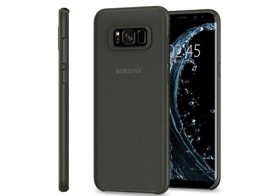 Spigen Samsung Galaxy S8 Air Skin, Black