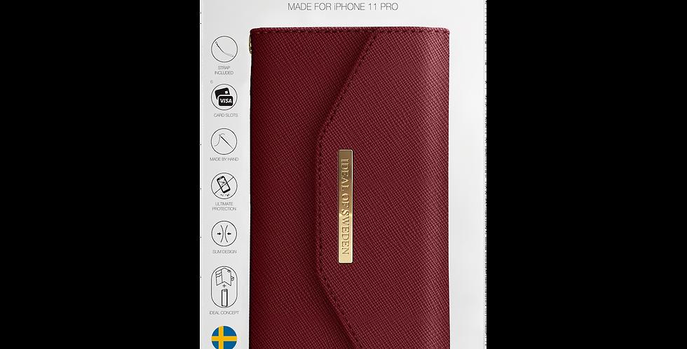 iDeal Of Sweden 11 Pro Mayfair Clutch, Burgundy