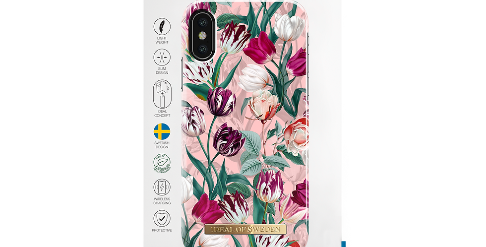 iDeal Of Sweden iPhone X/Xs Fashion Case, Vintage Tulips