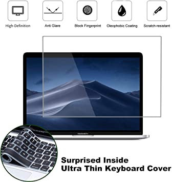 Skin-Mate MacBook Pro 13-inch Screen Protector, Anti-Glare