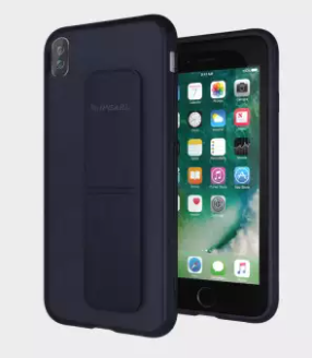 iPearl iPhone X Leather Grip Case, Deep Blue