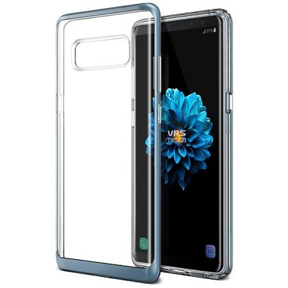 VRS Design Samsung Galaxy Note 8 Crystal Bumper, Blue