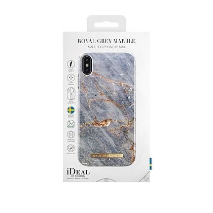iDeal Of Sweden Royal Grey Marble iPhone Xs Case