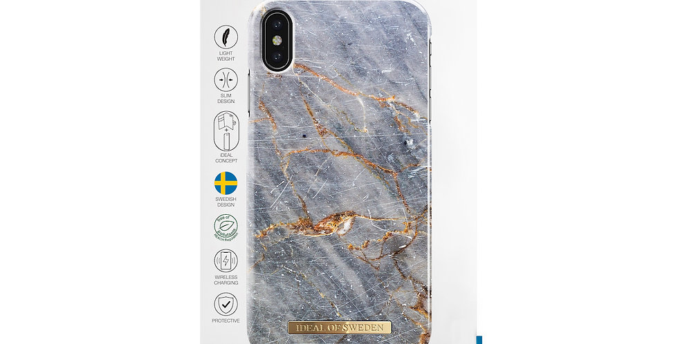 iDeal Of Sweden iPhone Xs Royal Grey Marble