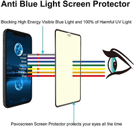 Vouni iPhone XR/11 Tempered Glass, Entire View  Black