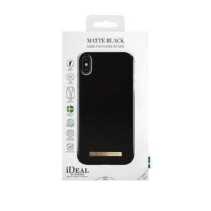 iDeal Of Sweden Matte Black iPhone Xs Max Case