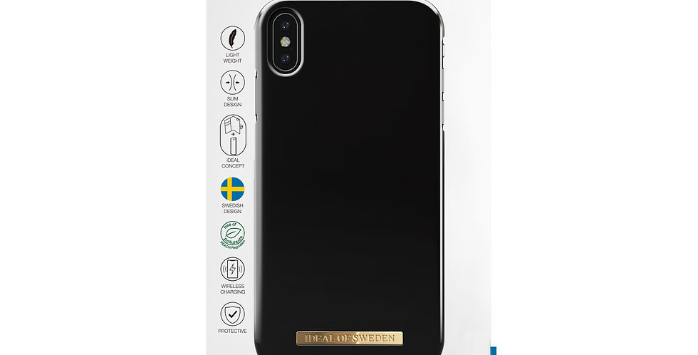 iDeal Of Sweden iPhone Xs Max Matte Black Sweden iPhone Xs Max Case