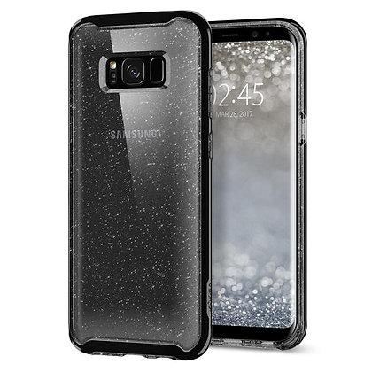 Spigen Samsung Galaxy S8 Plus Neo Hybrid Crystal Glitter, Space Quartz