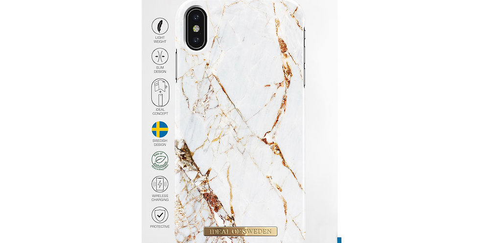 iDeal Of Sweden Fashion Case iPhone Xs Max, Carrara Gold