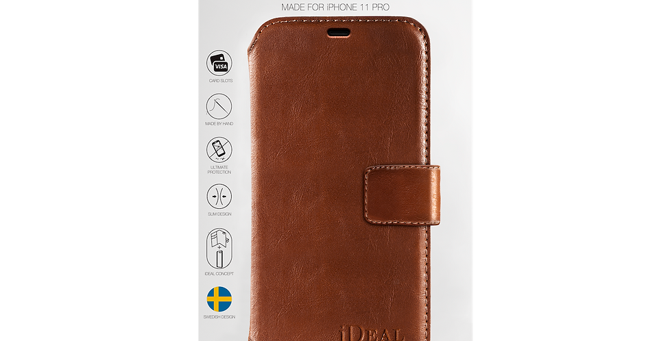 iDeal Of Sweden 11 Pro STHLM Wallet, Brown