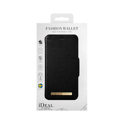 iDeal Of Sweden Fashion Wallet iPhone 11 Pro, Black