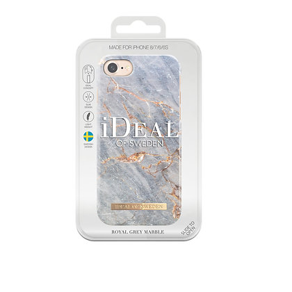 iDeal Of Sweden Royal Grey Marble iPhone 8/7/6/6s Case
