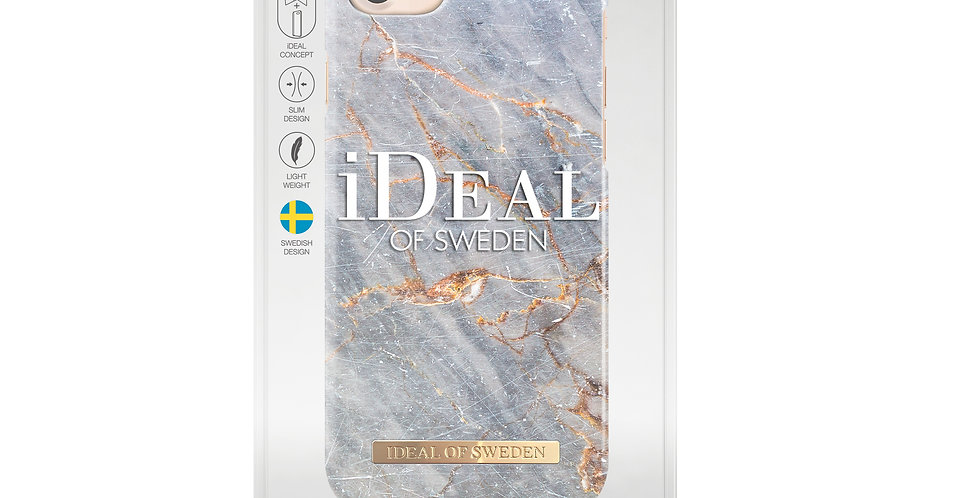 iDeal Of iPhone 8/7/6/6s Royal Grey Marble Case
