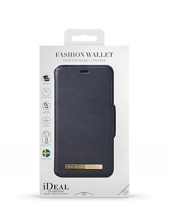iDeal Of Sweden Fashion Wallet iPhone 11 Pro, Navy