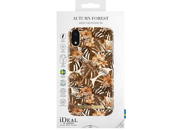 iDeal Of Sweden Fashion Case iPhone XR, Autumn Forest