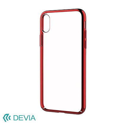 Devia iPhone XR Glimmer Hybrid Case, Red