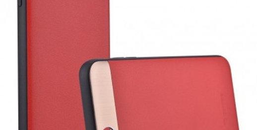 Comma iPhone 6s/6 Plus Vivid Genuine Leather Case, Red