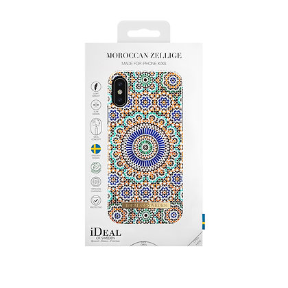 iDeal Of Sweden Fashion Case iPhone X/Xs, Moroccan Zellige