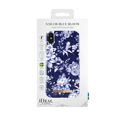 iDeal Of Sweden Fashion Case iPhone Xs Max, Sailor Blue Bloom