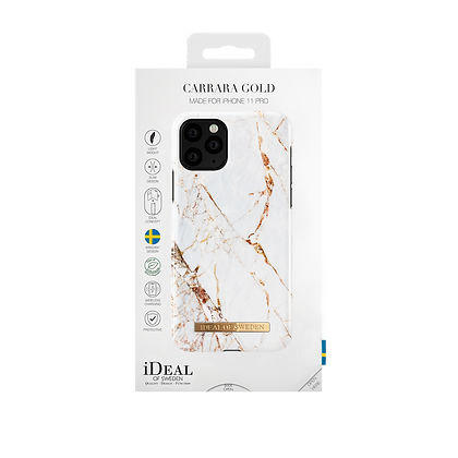 iDeal Of Sweden Fashion Case iPhone X/Xs, Carrara Gold
