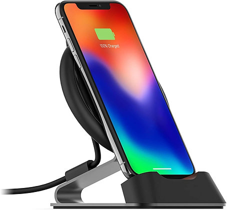 Mophie Charge Stream Universal Wireless Desk Stand, Black