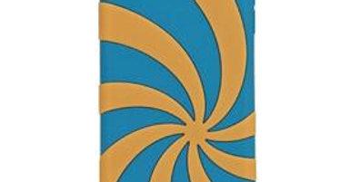 Gecko Touch 5 Swirl, Blue/Orange