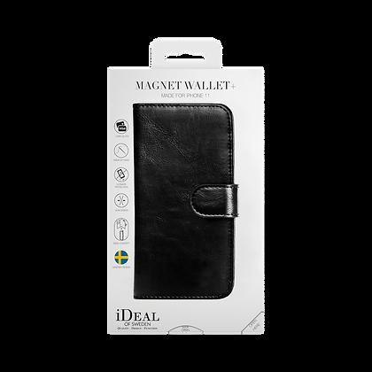 iDeal Of Sweden Magnet Wallet Plus iPhone 11, Black