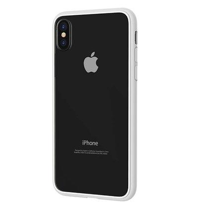 Comma iPhone X Fancy Mirror Case, Clear