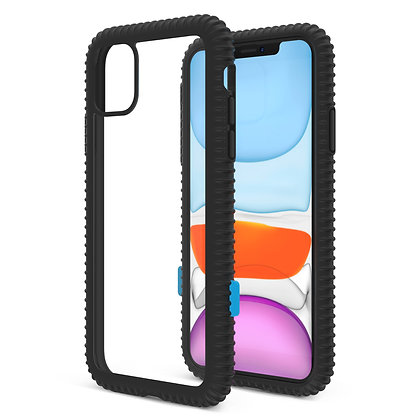 JTLegend iPhone 11 Pro Wavyee Case, Black