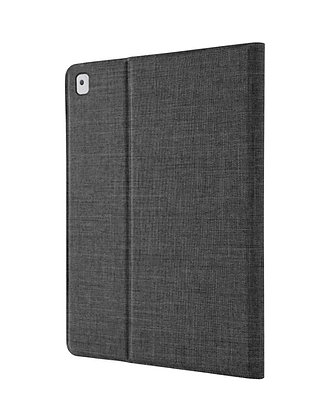 """STMiPad 9.7"""" (2018)/Pro 9.7""""/Air 1, 2 Atlas Folio with Pencil Holder, Charcoal"""