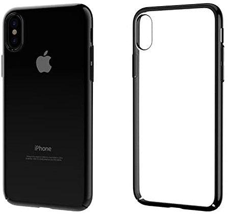 Devia iPhone Xs Max Glimmer Hybrid Case, Black