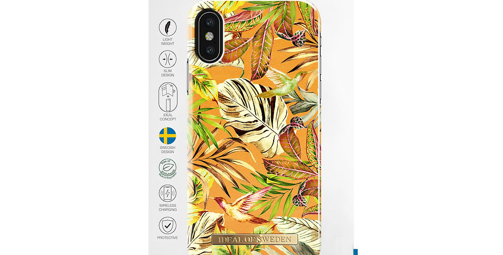 iDeal Of Sweden iPhone X/Xs Fashion Case, Mango Jungle