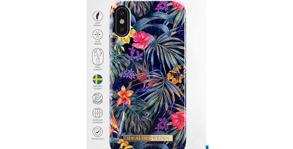 iDeal Of Sweden Fashion Case S/S 2018 iPhone X/Xs, Mysterious Jungle
