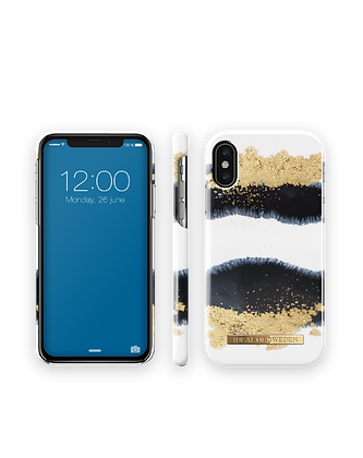 iDeal Of Sweden Fashion Case iPhone Xs, Gleaming Licorice