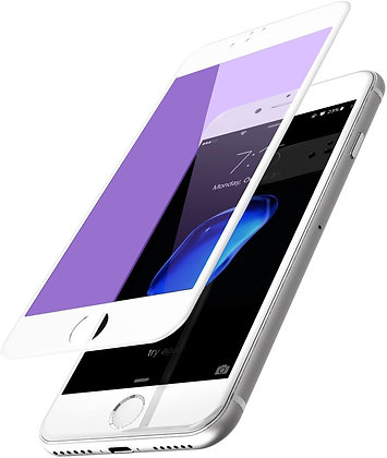 Vouni iPhone 7 Screen Protector, MAX  Glass White