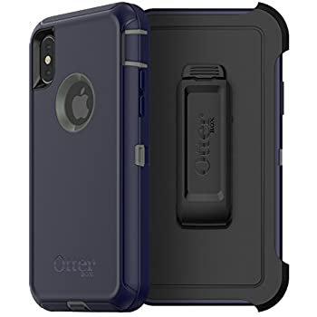 OtterBox Defender Series iPhone X, Stormy Peaks (Green/Blue)