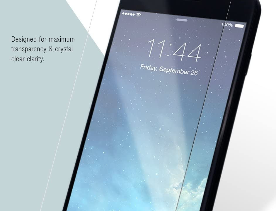 Comma iPhone 7 Screen Protector, Crystal Clear