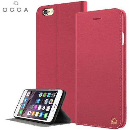 OCCA iPhone 6s/6 Plus Jacket Collection, Red