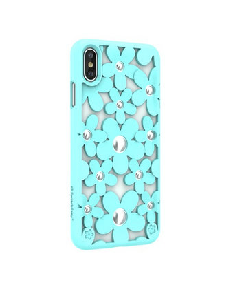 SwitchEasy iPhone Xs Fleur TPU Case, Mint