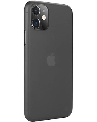 SwitchEasy iPhone 11 0.35 Ultra Slim PP Case, Transparent Black