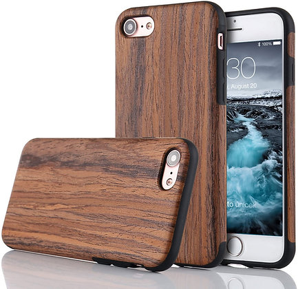 JTL iPhone 8/7 Classical Wood Skin Hard Case, Birch