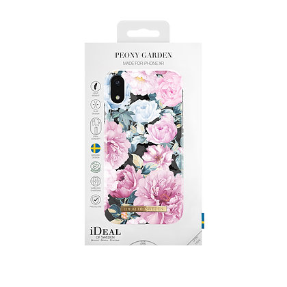 iDeal Of Sweden Fashion Case iPhone XR, Peony Garden