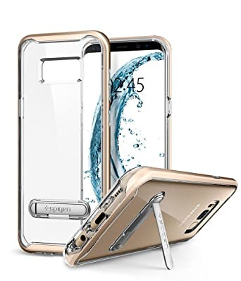 Spigen Samsung Galaxy S8+ Crystal Hybrid, Gold Maple