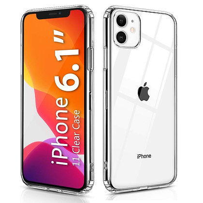 Comma iPhone 11 Hard Jacket Case, Clear