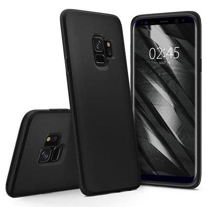 Spigen Samsung Galaxy S9 Liquid Crystal, Matte Black