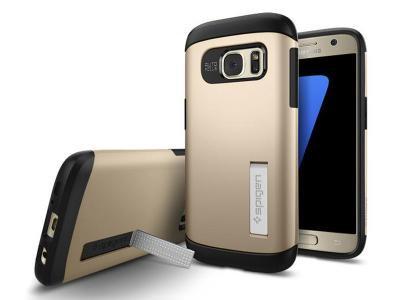 Spigen Samsung Galaxy S7 Slim Armor Series, Gold