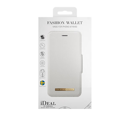 iDeal Of Sweden Fashion Wallet iPhone 8/7/6/6s, White
