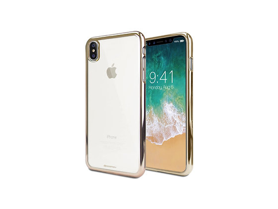 Power Support iPhone X Air Jacket Shock-Proof, Metallic Gold