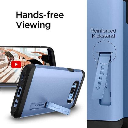Spigen Samsung Galaxy S8 Tough Armor, Coral Blue