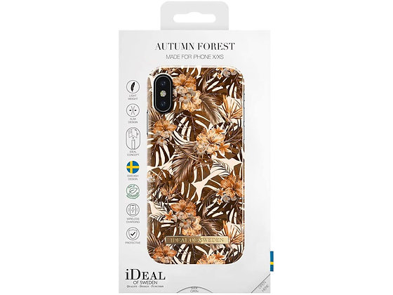 iDeal Of Sweden Fashion Case X iPhone Xs, Autumn Forest